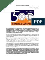 Os 500 anos da Reforma Protestante