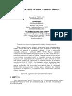 Aplicações Da Analise Da Tarefa Em Ambiente Simulado