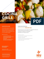 Curso Presencial Cocina Grill