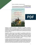 Alexander von Humboldt e a invenção da natureza