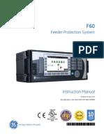 Multilin f60 - Manual