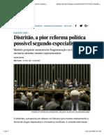 El Pais - Reforma política