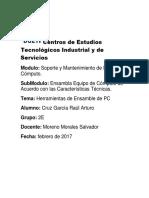 Herramientas de Ensamble de PC.docx