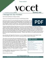 April-May2006 Avocet Newsletter Tampa Audubon Society
