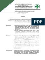 9.1.2.1 Sk Pedoman Pelaksanaan Mandiri Dan Rekan Terhadap Perilaku Petugas Klinis