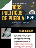Monitoreo Poltico Web-facebook-twitter Puebla 1 Al 31 de Julio de 2017