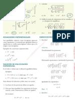 Ecuaciones Exponenciales Lex