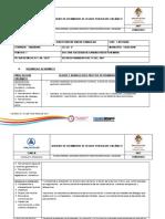 Registro de Seguimiento de Logros Por Bloque Orgánico