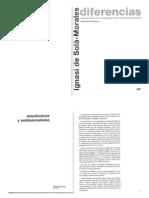 Arquitectura y Existencialismo DeSOLAMORALES