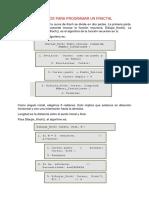 Metodos Para Programar Un Fractal