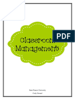 classroom managment plan- final