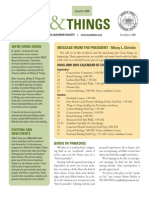 Sept-October 2009 Wings and Things Newsletter Venice Area Audubon Society