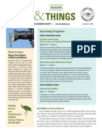 March-April 2010 Wings and Things Newsletter Venice Area Audubon Society