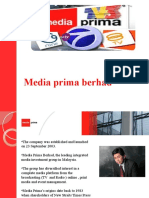 strategic planning of media prima berhad
