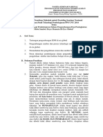 Pedoman Penulisan Makalah Untuk Prosiding SEMNAS TP