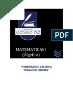 Antologia Matematicas i Algebra