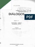 Platão - Fedão _2F O Banquete _2F Protágoras (Tradução de Carlos Alberto Nunes)
