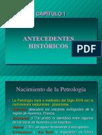 01.Antecedentes Históricos de La Petrología