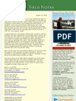 Field Notes From The Meg Whitman Campaign - August 13, 2010