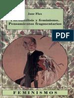 Psicoanalisis y Feminismo. Pensamientos Fragmentarios