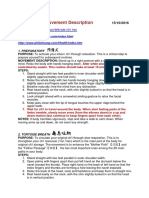 Waitankung Movement Description