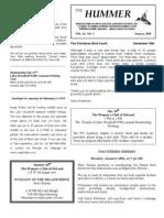 January 2010 Hummer Newsletter West Volusia Audubon Society