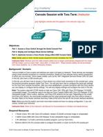 2.1.4.7 Lab - Establishing a Console Session with Tera Term - ILM.pdf