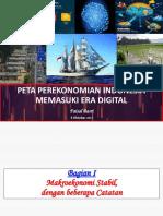 Faisal Basri Peta Perekonomian Di Era Digital