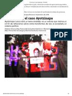 Termina Hoy El Caso Ayotzinapa – Horizontal