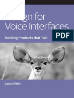 Oreilly Design for Voice Interfaces