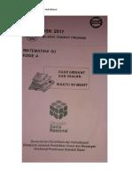 Soal Asli Olimpiade SD Mapel MTK 2017 Propinsi.docx