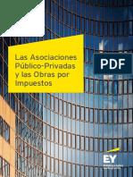 Las Asociacioness Público-Privadas y Las Obras Por Impuestos