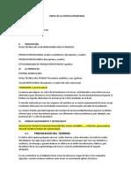 Estructura de Perfil