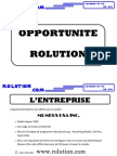 Catalogue Presentation de l'Opportunite Rolution