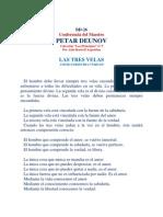 Peter Deunov-Las Tres Velas