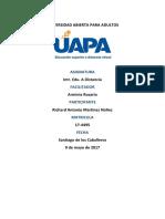 Tarea Int. Edu. a Distancia Unidad 1