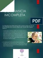DOMINANCIA IMCOMPLETA