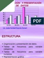 Organización y Presentación de Datos