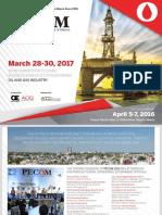 Pecom 28-30 Marzo 2017