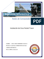Instalacion de Packet Tracer
