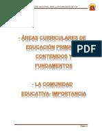 Áreas Curriculares de Educación Primaria