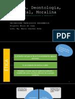 UNIT 1 - ELE 2 Ética, Deontología, Moral, Moralina
