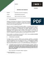 Contraloria Gral.rep.-Disponibilidad Presupuestal
