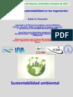 Sustentabilidad en Las Ingenierías CIR 2017 (Rubén D Piacentini)