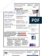 South Texas Council Newsletter - Fall 2010