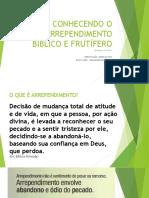 Conhecendo o Arrependimento Bíblico e Frutífero - EBD BETEL - LIÇÃO 4 - 22/10/2017 - Comentários Adicionais