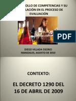 EVALUACION Y DECRETO 1290