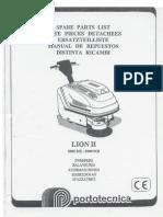LION8000 Spare Parts List
