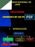 CINEMATICA DE UNA PARTICULA.ppt