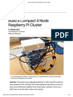Build a Compact 4 Node Raspberry Pi Cluster _ Make